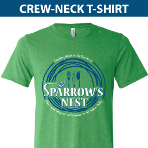 Sparrow's Nest | Crew Neck T-Shirt