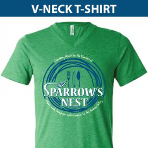 Sparrow's Nest | V-Neck T-Shirt