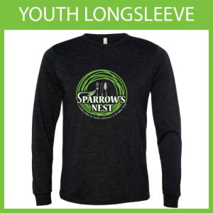 Sparrow's Nest Charity | Long-Sleeve Youth T-Shirt 2018 Edition