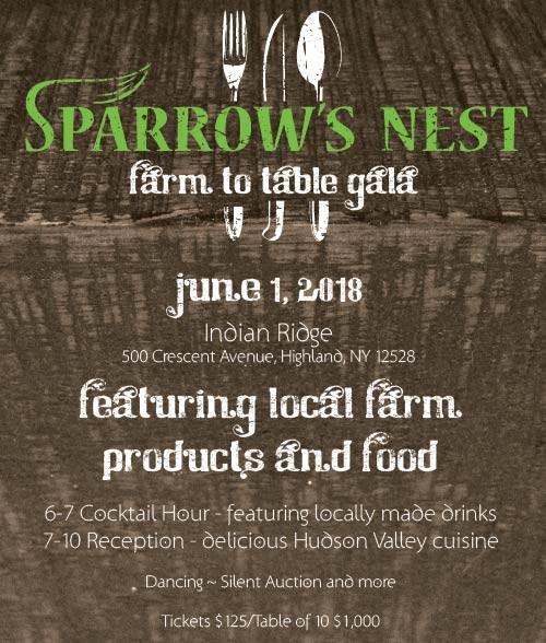 Sparrow's Nest | Farm To Table Gala 2018