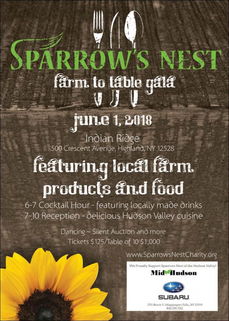 Sparrow's Nest | Farm To Table Gala 2018