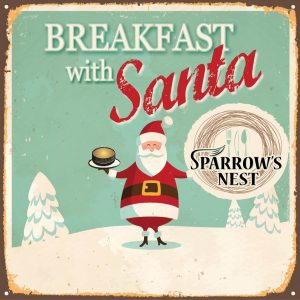 Breakfast with Santa | Sparrow's Nest Charity