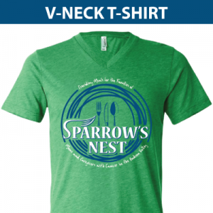 Sparrow's Nest | V-Neck T-Shirt