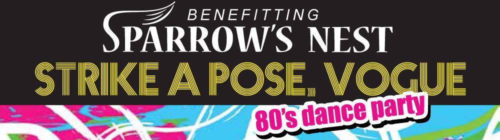 80s Dance Party | Sparrow's Nest Charity