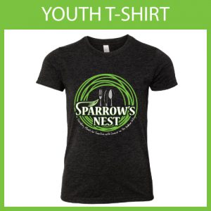 Sparrow's Nest Charity | Crew Neck Youth T-Shirt 2018 Edition