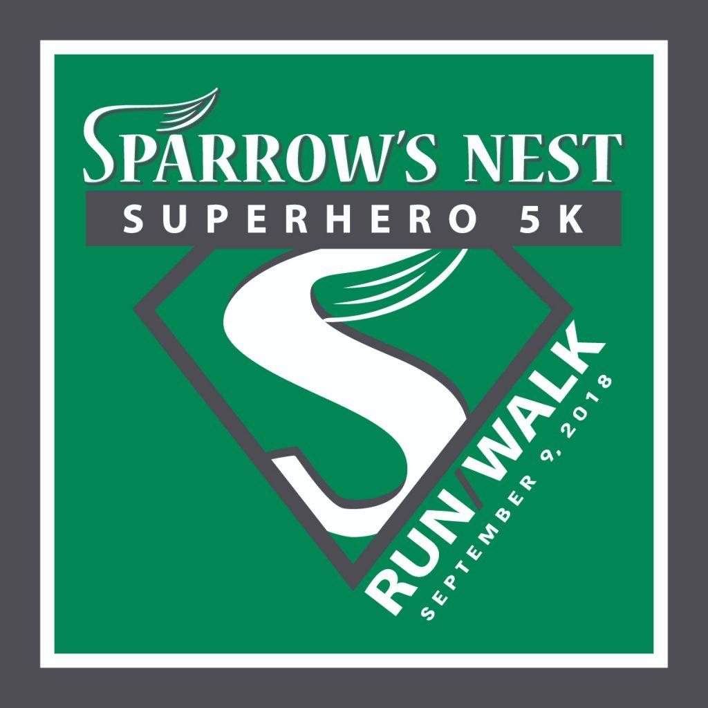 Super Hero 5K 2018 | Sparrow's Nest Charity